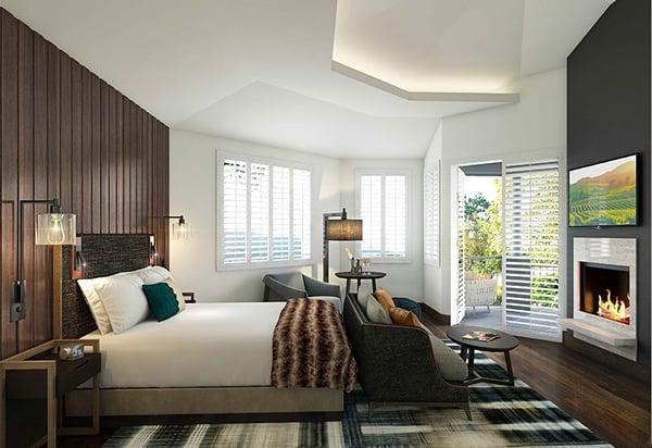 Hotel Villagio, Luxury Resort Renovations